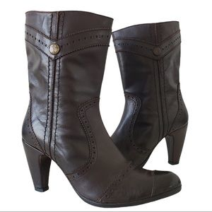 Blackstone Victorian heeled boots brown size 39 9